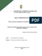 Procesos de Matriculacion y Promocion