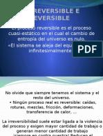 Caso Reversible e Irreversible