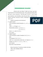 Bab v Transformasi Balikan
