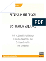 Distillation Seq