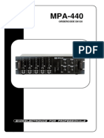 Fonestar 4x40w Ver Dap Audio