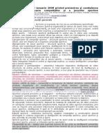 LEGE 4 2008 Prevenirea Şi Combaterea Violenţei Cu Ocazia Competiţilor Şi a Jocurilor Sportive.