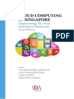 Cloud Computing in Singapore 2013 Edition