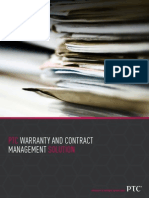 J4220 PTC Warranty Management BRO