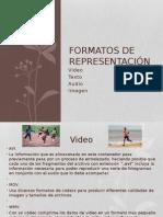 Formatos de Representación