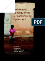 United Nations University Unintended Consequences of Peacekeeping Operations 2007