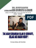 Asy Syahid Abu Mushab Al Zarqowi_tak Akan Kubiarkan Islam Dihancurkan