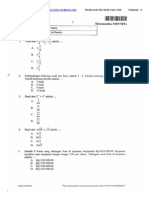 Soal Un Matematika Smp 232 Andi Seno 24