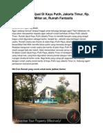 Iklan Rumah Dijual Di Kayu Putih, Jakarta Timur, Rp. 10 Miliar an, 13210