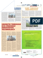 Cutting Edge Solutions - Articles in Times Business