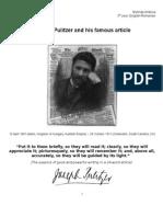 Handout Pulitzer