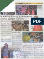 Newspaper Articles 5