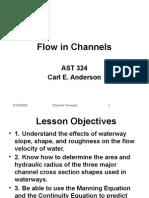 Lesson 6 Channel Flow