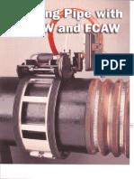 Welding Pipe With GMAW FCAW
