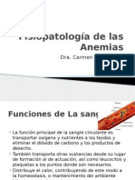 Fisiopatología de las Anemias CLASE