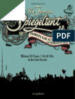 Spiegeltent Program 2007