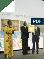 WWF Awards Donald Kaberuka(2)