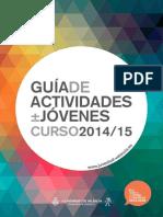 Guía de Actividades 2014 2015