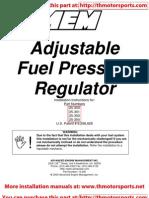 AEM Fuel Pressure Regulator_017!25!304R