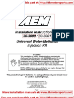 AEM_Installation Instructions Water Injection30-3000