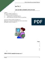 III. Mecanismul Financiar Si Politica Financiara