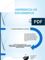 Transferencia de Documentos