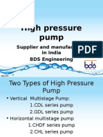 Dealer and Supplier of High Pressure Pump