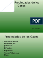 Propiedades de Los Gases