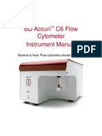 BD Accuri C6Flow Cyto Instrument Manual