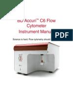 BD Accuri C6Flow Cyto Instrument Manual