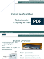 CCNA3 3.1-06 Switch Configurations