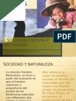 Sociedda y Naturaleza