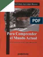 PARA COMPRENDER EL MUNDO ACTUAL