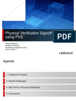Physical Verification Signoff for DDR Cadence IP Design