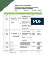 Jadwal PKKMB 2014