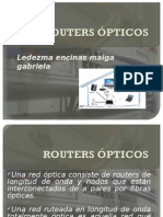 Routers Opticos