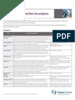 Jobs and Role Descriptions Sept 2013