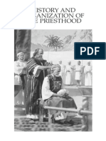 History and Organization of the Priesthood