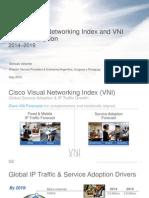 Pronóstico Anual Cisco VNI (Visual Networking Index)