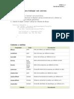 Uso de canvas HTML5
