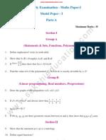 Maths P1 MP1