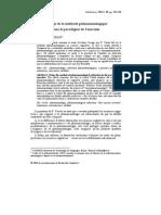 François-David Sebbah - L'usage de la méthode phénoménologique dans le paradigme de l'enaction