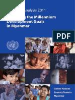 Myanmar MDG 2011