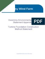 Appendix 5 Foundation Method Statement
