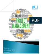 Project Management Sec 1