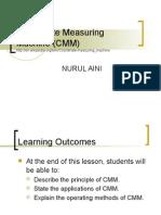 Coordinate Measuring Machine (CMM)