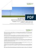 PA's Electricity Deregulation