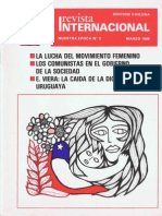 Revista Internacional-Edición Chilena Marzo de 1985