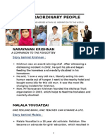 Extraordinary People Notes (Pds)