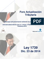 Foro Tributario 2015